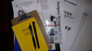 ARES Communicator Equipment and Documents
