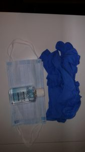 Personal Protective Equipment Component bag